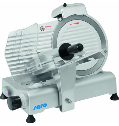 Saro Aufschnittmaschine | 230V-150W | Ø250mm | 520x460x(h)380mm