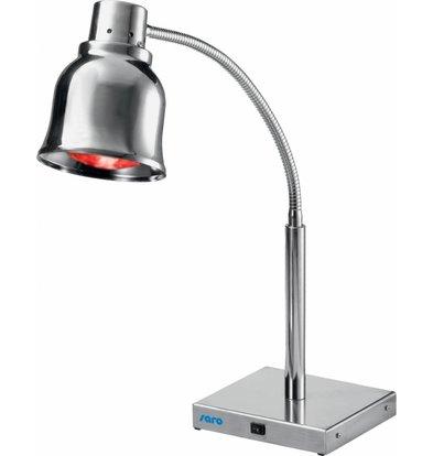 Saro Warmhaltelampe Infrarot | mit Fuß | 220x220x(h)650mm