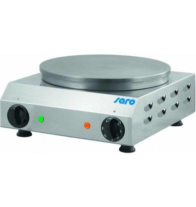 Saro Crêpes-Gerät Ø350mm | 230V-2,4kW | 370x430x170(h)mm