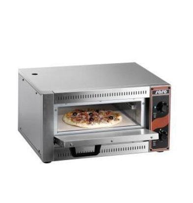 Saro Elektro Pizzaofen | 1 Pizza Ø33cm | 230V-2,5kW | 530x430x(h)290mm