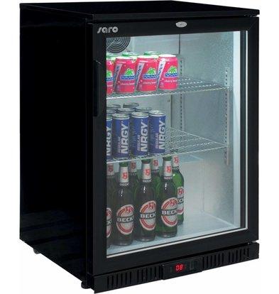 Saro Barkühlschrank | 1 Glastür | 138 Liter | 600x520x(h)850mm