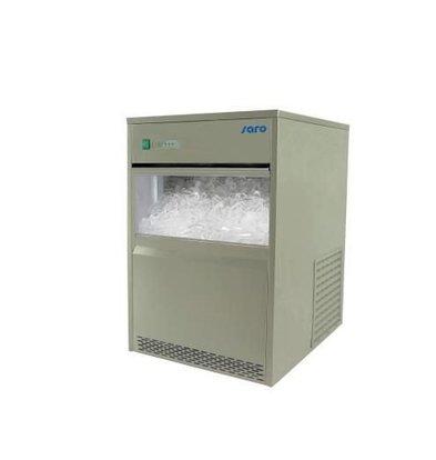 Saro Eiswürfelbereiter | 26kg/24St | Vorratsbehälter 6 Kg | XXL ANGEBOT