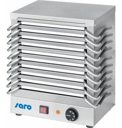 Saro Rechaud 10 Platten | Edelstahl Gehäuse | 1200W | 365x245x(h)440mm