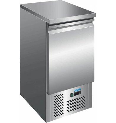 Saro Kühltisch Edelstahl | 1 Tür | 440x700x(h)850/880mm