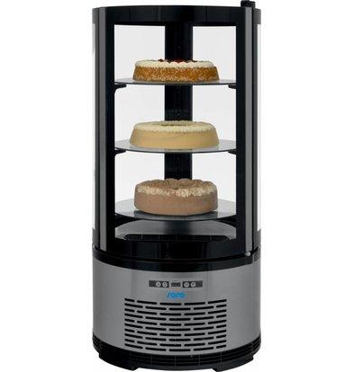 Saro Kuchen- Tortenvitrine DeLuxe | 100 Liter | Ø 480x(h1030mm