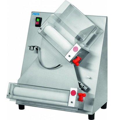 Saro Teigausrollmaschine Modell TERAMO 1 | Teigdurchmesser 100-300 mm | 530x480x(h)560mm