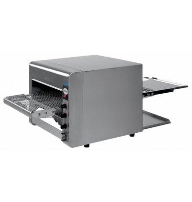 Saro Durchlaufofen  Quartz| Variable Geschwindigkeit | 470x1050x(h)400mm