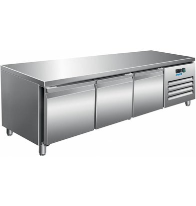 Saro Edelstahl Kühltisch | 317 Liter | 1795x700x650(h)mm