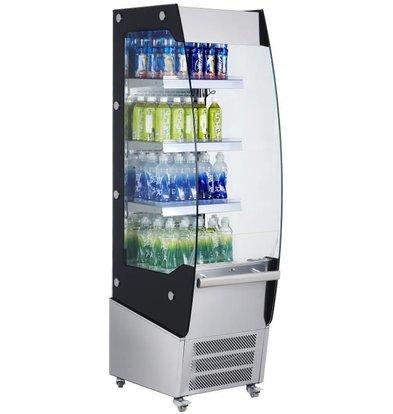 Saro Kühlregal mit Nachtrolo | 220 Liter | 494x600x1740mm