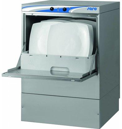 Saro Geschirrspülmaschine Doppelwandig | 500x500x(h)710mm | MADE IN EUROPE