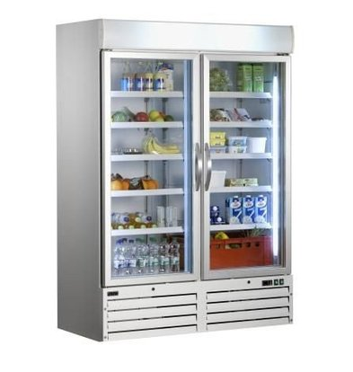 Saro Kühlschrank mit Umluftventilator   920 Liter   137x72x(h)199mm