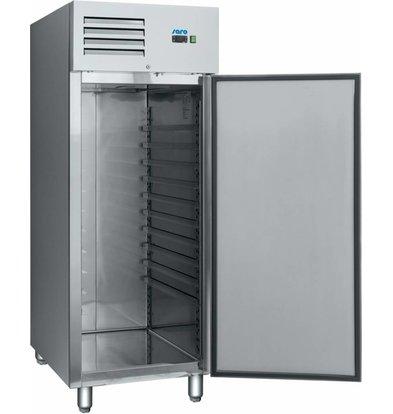 Saro Bäckerei Tiefkühlschrank |Umluft | 852 Liter | 740x990x(h)2010mm