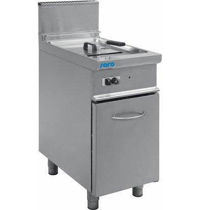 Saro Friteuse Casta | Gas | 17 Liter | 16,5kW | Unterbau | 400x700(h)850mm