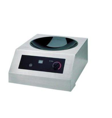 Saro Wok-Induktionskocher | 19 Stufen | 385x520x(h)245mm | 2500W/230V