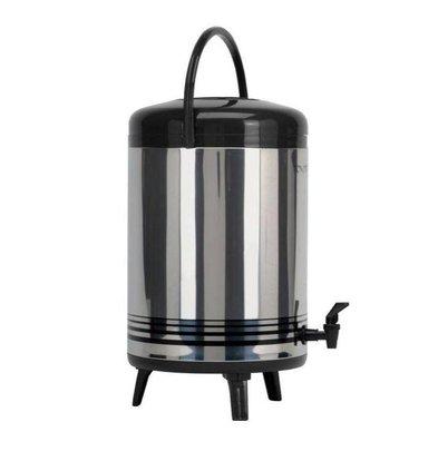 Saro Heißwasserspender mit Zapfhahn + Henkel | 12 Liter