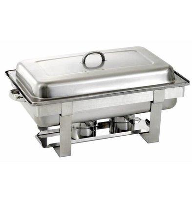 Saro Chafing Dish Satz | 1/1 GN | 620x360x(h)250/310mm
