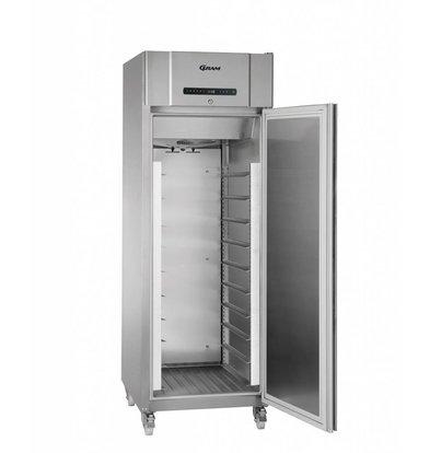 Gram Bäckerei Tiefkühlschrank Edelstahl | Gram BAKER F 610 RG L2 10B | 583 Liter | 695x868x2010(h)mm