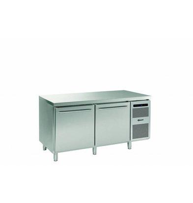 Gram Bäckerei Tiefkühltisch | 2 Türen | Gram BAKER F 1808 CBG A DLB DRB L2 | 586L | 1698x800x885/950(h)mm