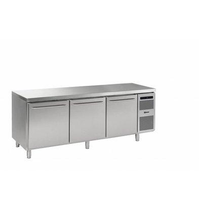 Gram Bäckerei Kühltisch | 3 Türen| Gram BAKER M 2408 CBG A DLB DLB DRB L2 | 865L| 2340x800x885/950(h)mm