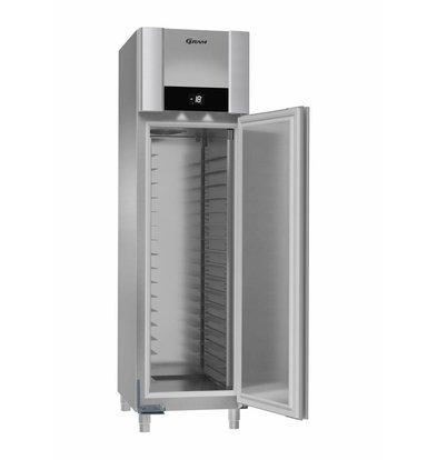 Gram Bäckerei Tiefkühlschrank Edelstahl | Gram BAKER F 550 CCG L2 25B | 465L | 600x855x2125(h)mm