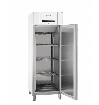 Gram Gastronomie Tiefkühlschrank Weiß | Gram COMPACT F 610 LG L2 4N | 583L | 695x868x2010(h)mm