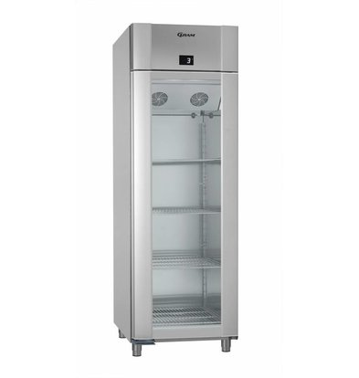 Gram Display Kühlschrank Vario Silver Alu| Gram ECO PLUS KG 70 RAG L2 4N | 477L | 700x905x2125(h)mm
