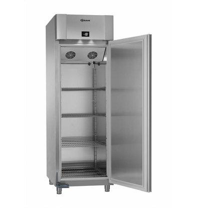 Gram Gastronomie Tiefkühlschrank Edelstahl | Gram ECO PLUS F 70 CCG L2 4N | ENERGIESPAREND | 477L | 700x905x2125(h)mm