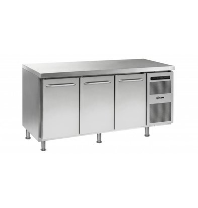 Gram Tiefkühltisch Edelstahl | 3 Türen | Gram GASTRO 07 F 1807 CMH AD DL/DL/DR LM | 506L | 1726x700x884(h)mm