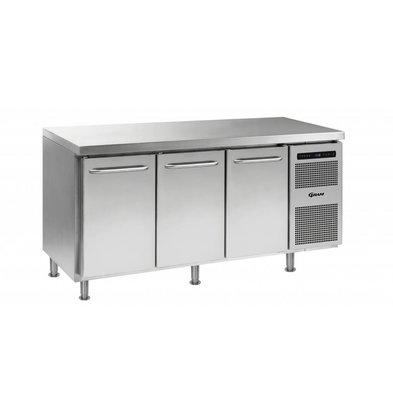 Gram Kühltisch 3-Türig | Gram GASTRO 07 K 1807 CMH AD DL/DL/DR LM | 506L | 1726x700x884(h)mm