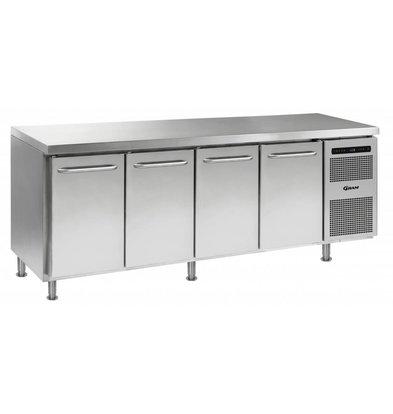 Gram Kühltisch 4-Türig | Gram GASTRO 07 K 2207 CMH AD DL/DL/DL/DR LM | 668L | 2163x700x884(h)mm
