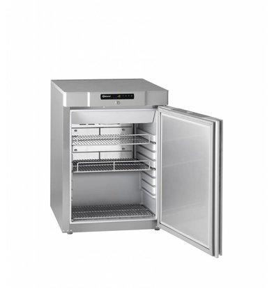 Gram Tiefkühlschrank Edelstahl | Gram MARINE COMPACT F 210 RH 60 HZ 2M | 125L | 595x640x830(h)mm