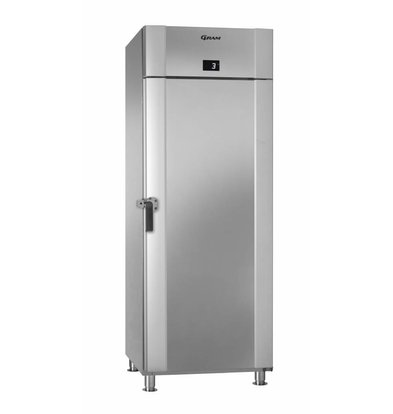 Gram Kühlschrank Edelstahl + Marinehandgriff | Gram MARINE ECO PLUS M 70 CCH 4M | 610L | 735x971x2125(h)mm
