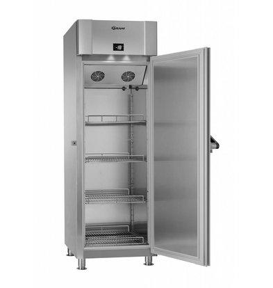 Gram Tiefkühlschrank Edelstahl + Marinehandgriff | Gram MARINE ECO PLUS F 70 CCH 4M | 610L | 735x971x2125(h)mm