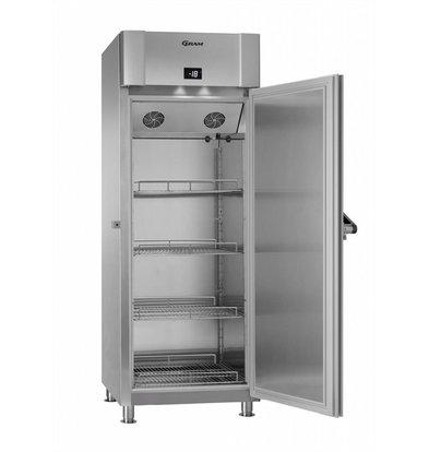 Gram Tiefkühlschrank Edelstahl + Marinehandgriff | Gram MARINE ECO TWIN F 82 CCH 4M | 614L | 855x851x2125(h)mm