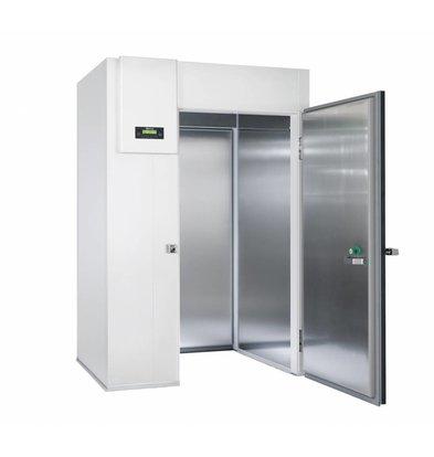 Gram Einfahr-Schockkühler/Froster Weiß | Gram PROCESS KPS 120 CF LS U | 1500x1326x2235(h)mm