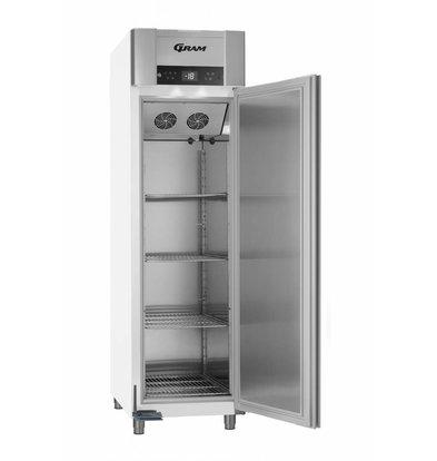 Gram Tiefkühlschrank Weiß   ENERGIESPAREND   Gram SUPERIOR EURO F 62 LAG L2 4S   465L   620X855X2125(h)mm