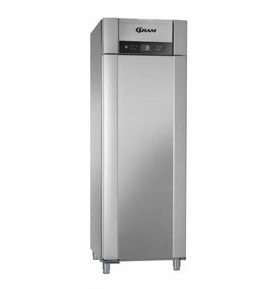 Gram Gastronomie Kühlschrank Edelstahl + Umluft | Gram SUPERIOR PLUS M 72 CCG L 4S | 477L | 720x905x2125(h)mm