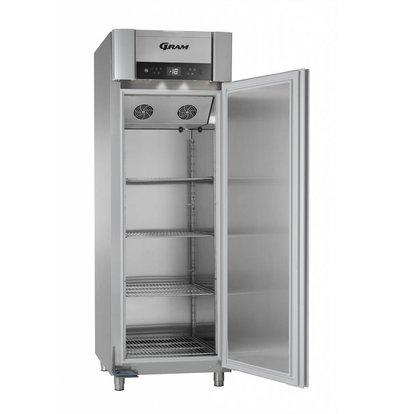 Gram Gastronomie Tiefkühlschrank Edelstahl | Gram SUPERIOR PLUS F 72 CCG L 4S | 477L | 720x905x2125(h)mm