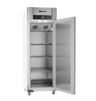 Gram Gastronomie Tiefkühlschrank Weiß | Gram SUPERIOR PLUS F 72 LAG L2 4S | 477L | 720x905x2125(h)mm