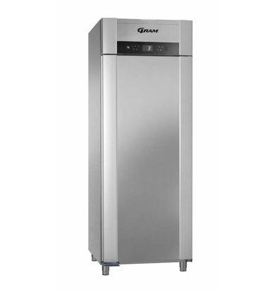 Gram Gastronomie Kühlschrank Edelstahl + Umluft   Gram SUPERIOR TWIN M 84 CCG L2 4S   614L   840x785x2125(h)mm