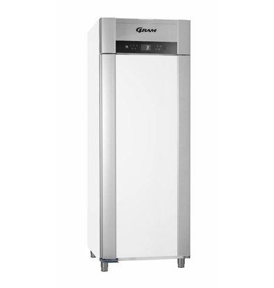 Gram Gastronomie Kühlschrank Weiß + Umluft   Gram SUPERIOR TWIN M 84 LCG L2 4S   614L   840x785x2125(h)mm