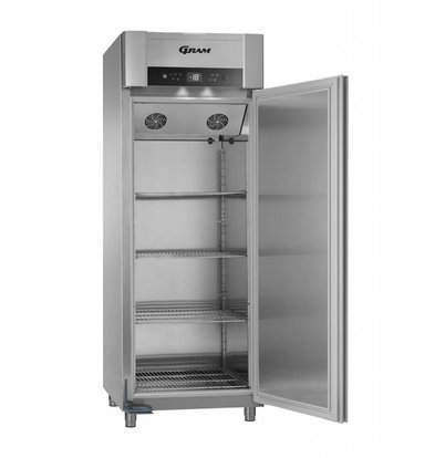 Gram Gastronomie Tiefkühlschrank Edelstahl   Gram SUPERIOR TWIN F 84 CCG L2 4S   614L   840x785x2125(h)mm