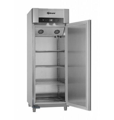 Gram Gastronomie Tiefkühlschrank Vario Silver   Gram SUPERIOR TWIN F 84 RAG L2 4S   614L   840x785x2125(h)mm