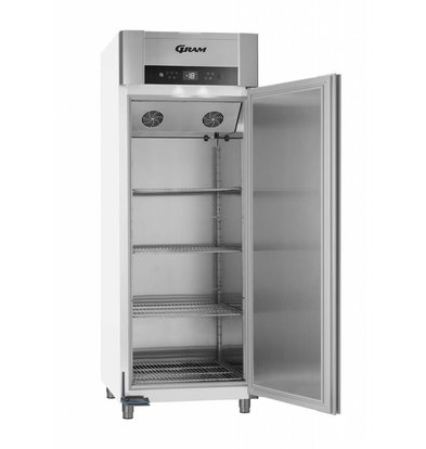 Gram Gastronomie Tiefkühlschrank Weiß   Gram SUPERIOR TWIN F 84 LAG L2 4S   614L   840x785x2125(h)mm