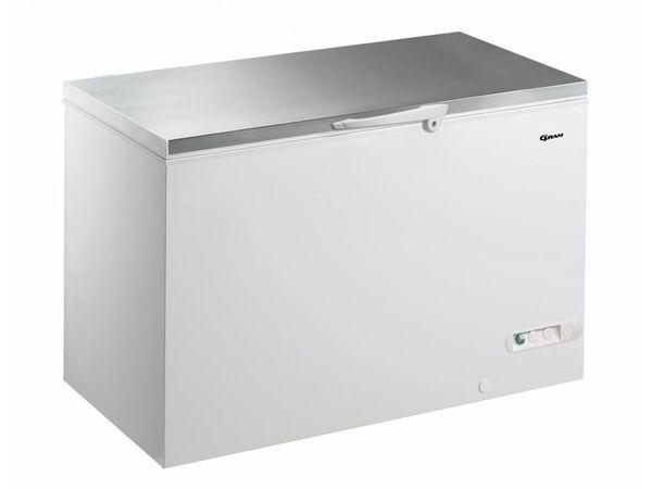 Gram Gefriertruhe mit Edelstahldeckel | Gram CF 45 S | 447L | 1300x730x860(h)mm
