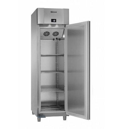 Gram Tiefkühlschrank Edelstahl   Gram Superior Euro F 60 CCG L2 4N   465L   600x855x2125(h)mm