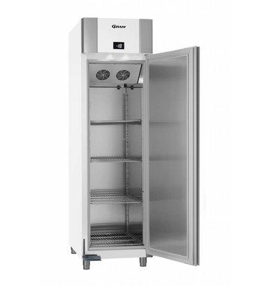 Gram Tiefkühlschrank Weiß/Aluminium   Eco Euro F 60 LAG L2 4N   465L   600x855x2125(h)mm