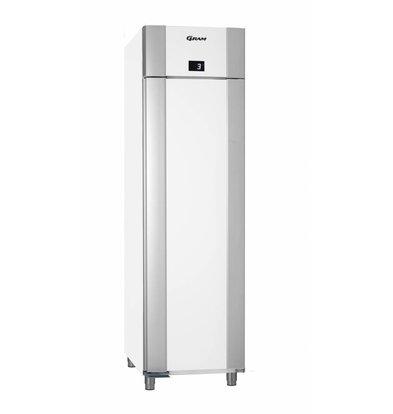 Gram Kühlschrank Weiß/Edelstahl   Gram Eco Euro M 60 LCG L2 4N   465L   600x855x2125(h)mm