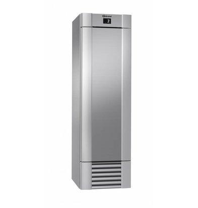 Gram Gastronomie Kühlschrank Edelstahl + Umluft | Gram ECO MIDI M 60 CCG 4S | 407L | 600x771x2000(h)mm