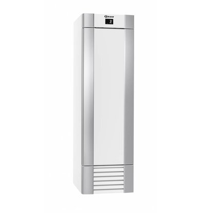 Gram Gastronomie Kühlschrank Weiß/Edelstahl | Gram ECO MIDI K 60 LAG 4N | 407L | 600x771x2000(h)mm